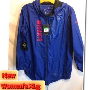 Nike NFL New York Giants Women's Packable hooded